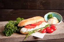 Lactosevrij broodje geklutst ei