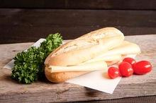 Notenvrij broodje jonge kaas