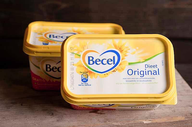 Becel margarine 500gr kuip