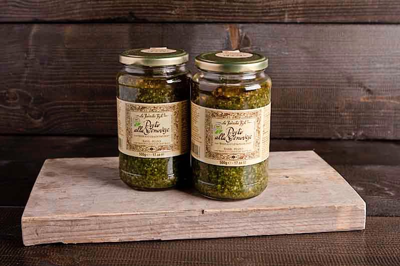 Pesto genovese pot (500 gram)